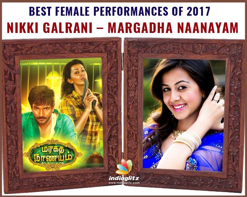 Nikki Galrani - Margadha Naanayam