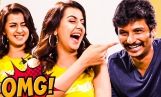 LOL Ithu Antha Kaalathu IAMK : Jiiva & Nikki Galrani Hilarious Interview