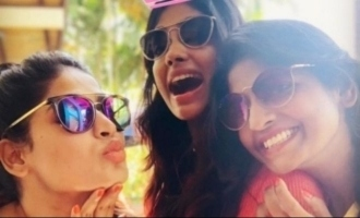 Kani and her sisters join together for a special occassion - cute pics give sibling goals
