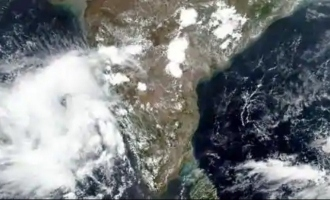 The worst storm to hit India in 70 years. Coronas virus patients evacuated!