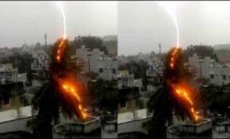 வெப்ப மண்டல புயல் காற்றாக வீசிய நிசர்கா புயல்!!! மகாராஷ்டிராவில் 4 பேர் உயிரிழப்பு!!!