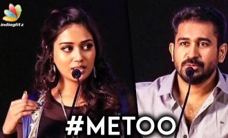 I'm Concerned about Me Too While Romancing : Vijay Antony Speech | Nivetha Pethuraj