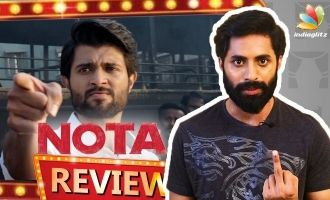 NOTA Tamil Movie Review