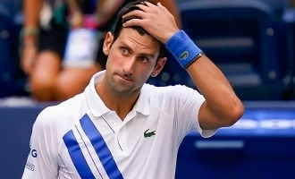 Shocking: Novak Djokovic disqualified from US Open after hitting lineswoman!