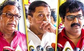 Vivek & Nassar Pays Last Respect to Balakumaran