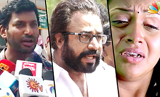 Shoot The Molesters Involved In Bhavana Kidnap : Ponvannan, Vishal Angry Speech
