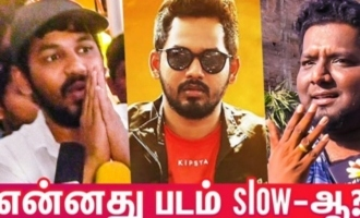 Second Half Slow Ah ? : RJ Vigneshkanth , Hiphop Tamizha Aadhi Speech