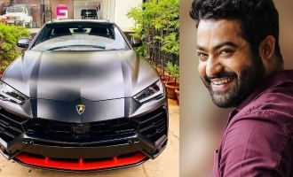 Jr NTR spends a whopping sum to get a fancy number plate for his Lamborghini - Details