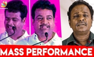 LOL!!! Blue Sattai Maran on Stage Review | Chutti Aravind Performance