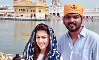 Nayan and Vignesh Shivn take a devotional trip