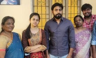 Aari surpraise visit to Anitha house viral images