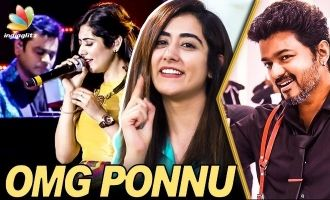 OMG Ponnu Recording with A.R.Rahman : Jonita Gandhi Interview