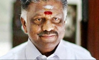 O Paneerselvam admitted to hospital