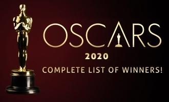 2020 Oscar award winners full lists