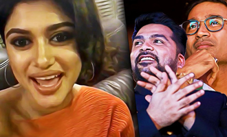 LIVE: What I like about Dhanush, Simbu : Oviya Speech