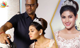 Oviya In Beauty and the Beast - Once Upon A Time Photoshoot Making