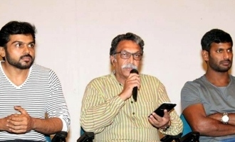 Is Nasser unhappy with Vishal
