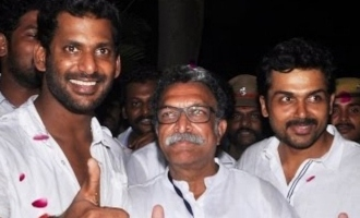 Vishal and Karthi to join Nasser again!