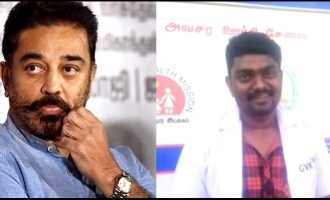 Kamal Haasan finds his 'Anbe Sivam' in ambulance driver Pandidurai