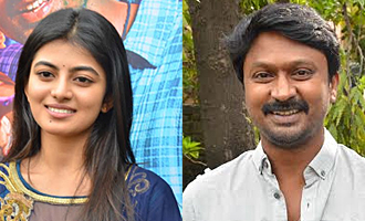 Anandhi's eyes are 100/100, that powerful : Krishna Speech