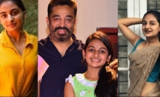 VIRAL SAREE PICS: Papanasam fame Esther Anil is not a child anymore!