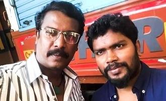 Pa Ranjith Samuthirakani movie interesting title revealed