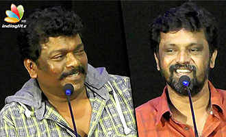 I came here instead of 2.0 Audio Launch because... : Parthiban, Cheran Speech