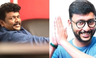 Parthiban and RJ Balaji release gautham karthick next movie firstlook
