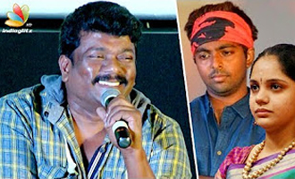 Parthiban comedy speech about GV Prakash and his heroine in front of Saindhavi