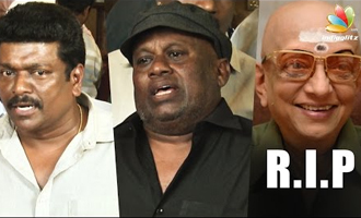 Parthiban, Senthil Speech at Cho Ramaswamy's Funeral