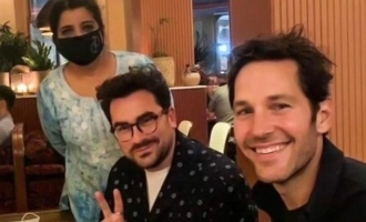Marvel actor Paul Rudd loved Indian Food and interacted with the Restaurant's employee through FaceTime!