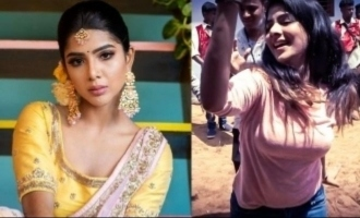 'Cooku With Comali' Pavithra Lakshmi's kuthu dance goes viral