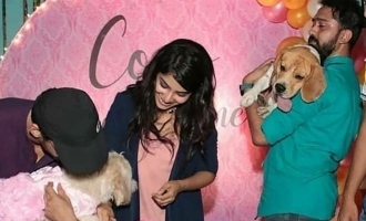 Cook with Comali star's adorable dog birthday celebration photos turn viral!