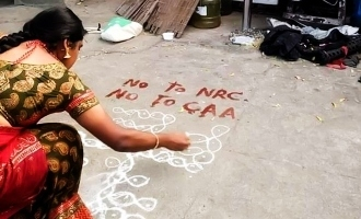 """""""Never imagined Kolam as tool of expression!"""" says top cinematographer!"""