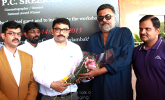 P.C.Sriram at Panasonic Workshop Inauguration