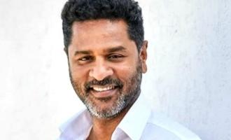 """Prabhudeva makes Superstar dance for """"Oorvasi""""!"""
