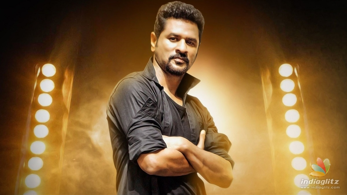 Prabhu Deva's new avatar as an action hero for his next - Begins shooting