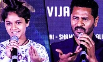 What an awesome dance performer she is: Prabhu Deva on Ditya Bhande