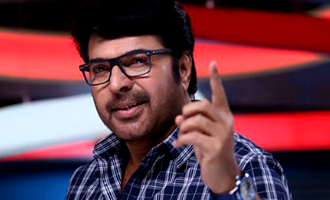 Mamootty's  on the verge of finishing a Tamil film