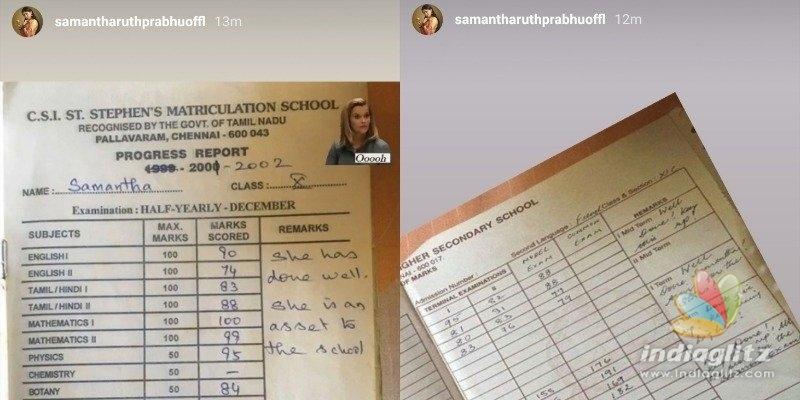 Samantha shares a nostalgic school memory!