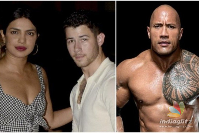 The Rock played matchmaker for Priyanka & Nick Jonas!