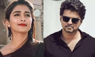 Pooja Hegde describes Thalapathy Vijay in a single word