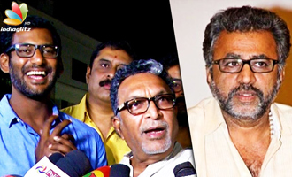 We rejected Ponvannan's resignation : Nasser, Vishal Speech