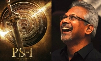 Team Ponniyin Selvan released the roaring first look poster! - Details