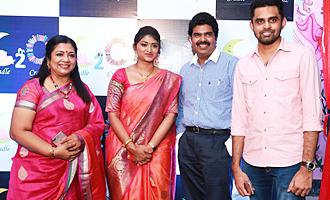 Poornima Bhagyaraj at the launch of Cradle 2 Crayonz