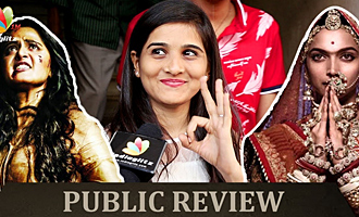 Padmaavat, Bhaagamathie : Public Review & Reaction