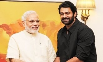 Prabhas does it for Narendra Modi!