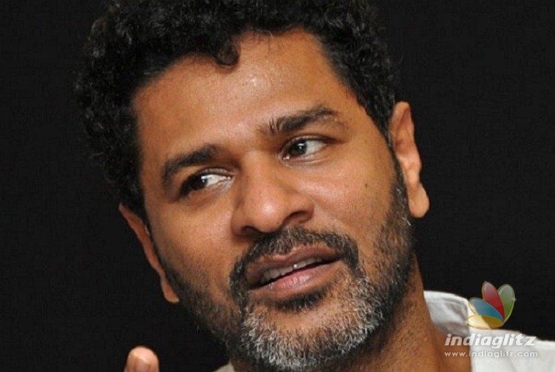 Director Prabhu Deva starts new project today with a huge star