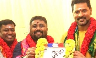Prabhudeva's new film with this director turned actor