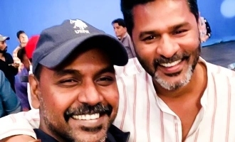 Lawrence shares an unseen nostalgic moment with Prabhu Deva!